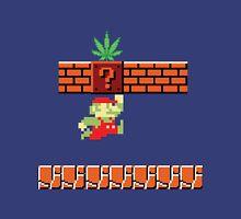 8-bit Retro Mario & Marijuana Unisex T-Shirt