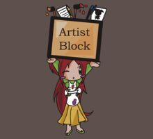 The Artist's Block  by Kimberly Temple