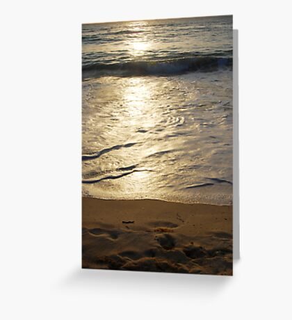 silver moment  Greeting Card