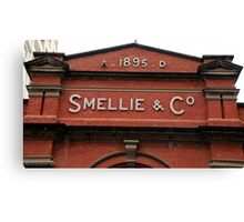 Smellie & Co. Canvas Print