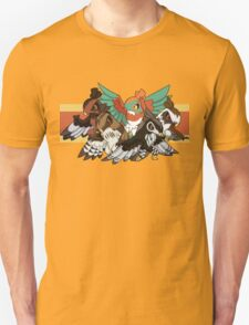 Hawlucha - Red-Tailed Hawk Morphs Unisex T-Shirt