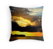 The Rays of Sun Throw Pillow
