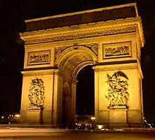 Arc de Triomphe by Tim Condon