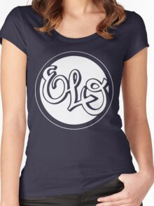 E.L.O. WHITE Women's Fitted Scoop T-Shirt