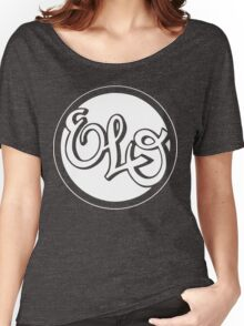 E.L.O. WHITE Women's Relaxed Fit T-Shirt