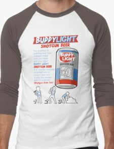 Shotgun Beer Men's Baseball ¾ T-Shirt