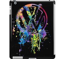 Volkswagen Emblem Splatter iPad Case/Skin