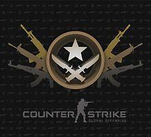 Counter Strike Global Offensive Terrorists by Sheryl Kam