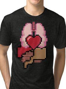 8-bit Organs Tri-blend T-Shirt