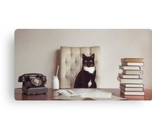 Corporate Cat Canvas Print