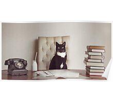 Corporate Cat Poster