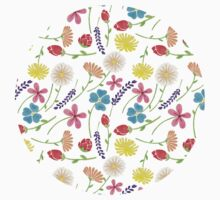 The Colorful Little Flowers Kids Clothes
