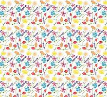 The Colorful Little Flowers by haidishabrina