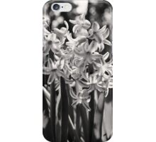 Black and White Blooms iPhone Case/Skin