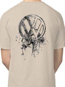 Volkswagen Emblem Splatter BW © Classic T-Shirt
