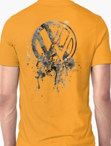 Volkswagen Emblem Splatter BW © T-Shirt