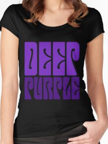 DEEP PURPLE Women's Fitted Scoop T-Shirt