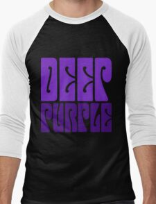 DEEP PURPLE Men's Baseball ¾ T-Shirt