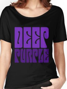 DEEP PURPLE Women's Relaxed Fit T-Shirt