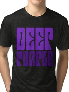 DEEP PURPLE Tri-blend T-Shirt