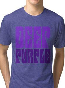 DEEP PURPLE Tri-blend T-Shirt