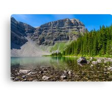 Bourgeau Lake Canvas Print
