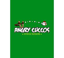 Angry Cuccos Photographic Print