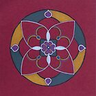 Red Mandala by Pam Wilkie