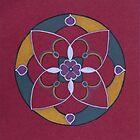 Red Mandala by Pam Wilkie