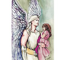 Angel of Protection Photographic Print