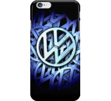 Shiny Volkswagen Badge © iPhone Case/Skin