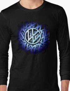 Shiny Volkswagen Badge © Long Sleeve T-Shirt