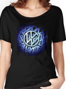 Shiny Volkswagen Badge © Women's Relaxed Fit T-Shirt