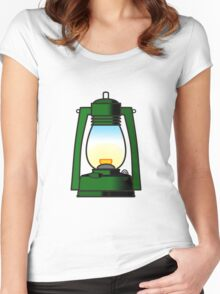 Let there be light Women's Fitted Scoop T-Shirt