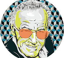 Stan Lee by Rachael Rose