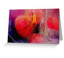 Heart Burning Greeting Card