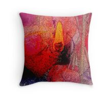Heart Burning Throw Pillow