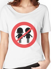 Children Banned Women's Relaxed Fit T-Shirt