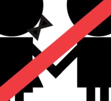 Children Banned Sticker