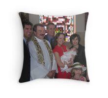 IT'S A FAMILY AFFAIR Throw Pillow