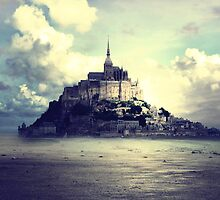 Mont St Michel by phatpuppy