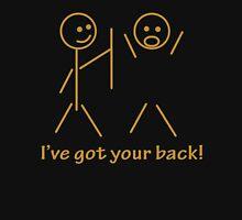 Stick Figure I Got Your Back Unisex T-Shirt