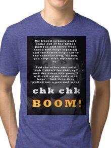 Tell it again!! Tri-blend T-Shirt