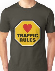 Love Traffic Rules T-Shirt