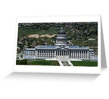 Utah Capital Greeting Card