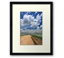 African Sky, Etosha National Park, Namibia, Africa. Framed Print