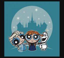 Frozen Powerpuff Girls Mash-Up Kids Clothes