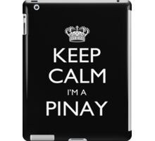 Keep Calm I'm A Pinay - Tshirts, Mobile Covers and Posters iPad Case/Skin
