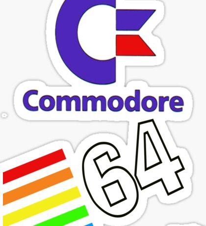 Commodore 64 Sticker