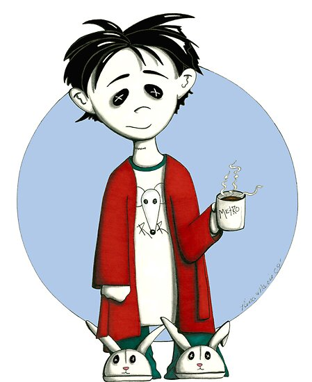 coffee zombie by ninamarie